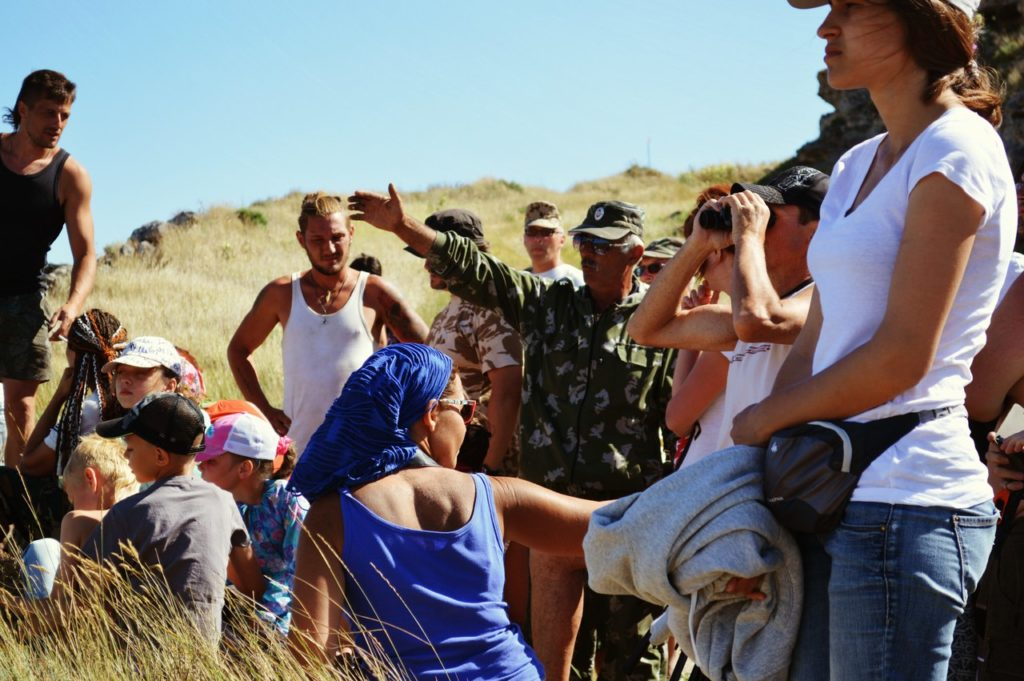 Экскурсия для волонтеров в Опукский заповедник