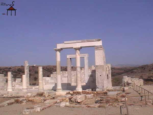Храм Деметры, Наксос, Греция